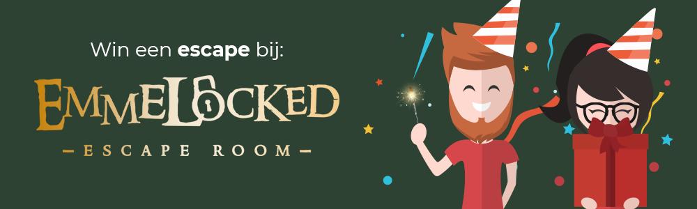 3 jaar escapetalk.nl giveaway #20 - Emmelocked