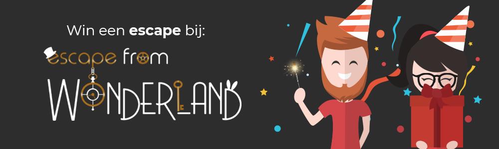 3 jaar escapetalk.nl giveaway #17 - Escape From Wonderland