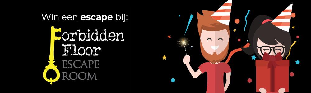 3 jaar escapetalk.nl giveaway #14 - Forbidden Floor