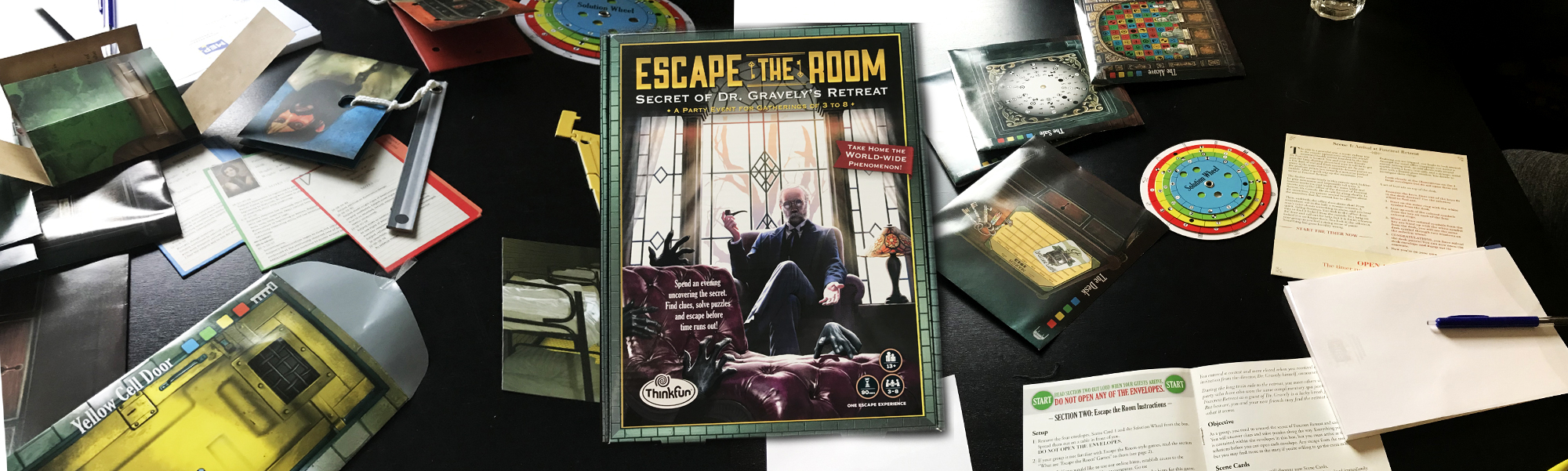 Escape The Room: Secret Of Dr. Gravely's Retreat